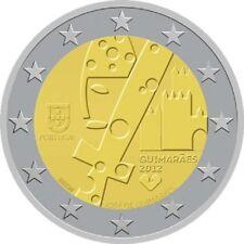 """PORTUGAL: SPECIALE 2 EURO 2012 UNC: """"GUIMARAES"""""""