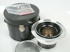 Zeiss Contarex Distagon 4/18 18mm 1:4 + case 231007 + rosa screen + caps + Adapt