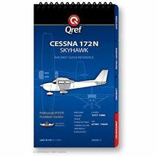 Cessna 172N Qref Checklist Book [Spiral-bound] [Jan 01, 2013] Jason Clemens