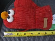 ELMO MITTENS knit mit Toddler baby boys girls animal costume Sesame Street delux