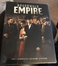 Boardwalk Empire: The Complete Second Season (DVD, 2012, 5-Discs) New & Sealed
