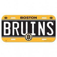 Boston Bruins License Plate