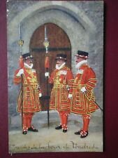 POSTCARD LONDON BEEFEATERS