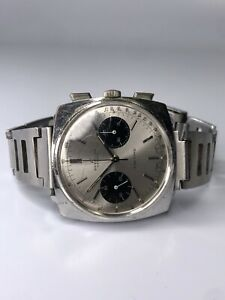Men's Stainless Steel Breitling Top Time Chronograph Manual c.1970s Vintage