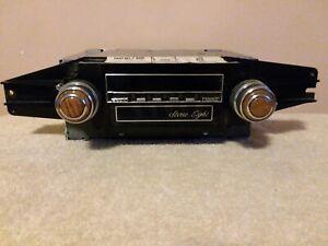 """Delco Original OEM 1981 Cadillac AM/FM ETR Radio 8 Track  997123 - """"NICE """""""