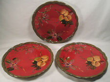 """Tracy Porter Dinnerware Octavia Hill Collection 11"""" Dinner Plate Set of 3"""
