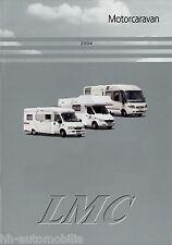 Prospekt LMC Motorcaravan 2004 Broschüre Wohnmobil Reisemobil Liberty Start Fini