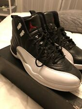 "Air Jordan Retro 12 ""Playoff"" Black/White Size 11"