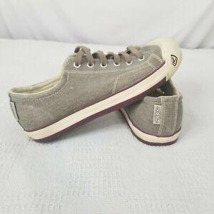 KEEN Coronado Women's Brown Gray Vulcanized Footwear Vegan Shoes Size US 9