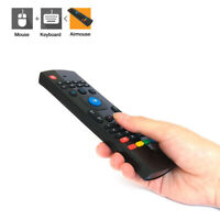 MX3 2.4G Wireless Air Mouse Remote Control Keyboard for Android TV Box PC Black