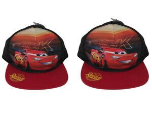 Disney Cars Kids Children Cap Baseball Cap One Size - Pack of 2