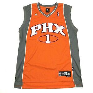 Adidas Mens Orange Basketball Jersey Size XL 1X +2 PHX SUNS Throwback STOUDEMIRE