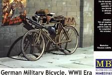 Masterbox German German military bicycle MG Fahrrad Modell-Bausatz 1:35 Diorama
