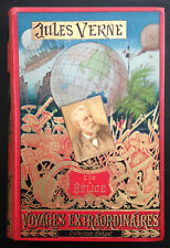 l'Ile à Hélice / Jules Verne - Hetzel Portrait collé