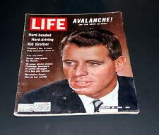 LIFE MAGAZINE JANUARY 26 TH 1962  ROBERT KENNEDY