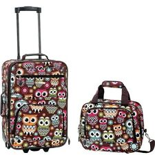 Rockland 03357 Luggage 2-Piece Carry On Set