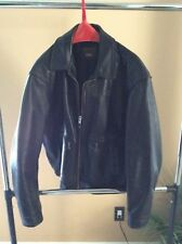 Vanson Leathers Suzuki Marauder Jacket size 50 Dark Brown