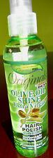 NEW AFERICA'S BEST ORIGINIALS OLIVE OIL SHINE EXTRA VIRGIN HAIR POLISH 6 FLOZ.