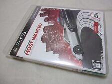 7-14 Days to USA. USED PS3 Need for Speed Most Wanted Criterion Japanese Version