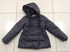Girls Designer Juicy Couture Black Padded Puffa Jacket Coat Size 8