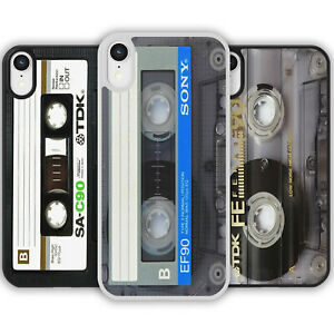 Retro 80s Cassette Tape Phone Case Cover for iPhone Samsung Music Vintage Player