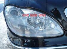 One Side Headlight Cover Headlamp Lens Lenses for 1998-05 Mercedes Benz S-class