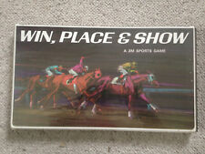 Win Show And Place - 3M Sprts Games line Board Game - 1966