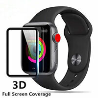 Tempered Glass Screen Protector for Apple Watch iWatch Series 4 Full 40mm / 44mm