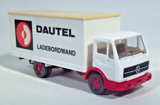 Wiking 1:87 Mercedes-Benz Cabover Dautel Ladebordwand Delivery Box Truck