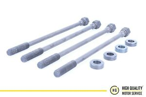 Cylinder Head Bolts with Washers For Deutz 04151904, 912, 913, 914, Set of 4
