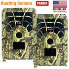 2 Pack Hunting Camera Trail Outdoor Wildlife 12MP Scouting Cam Night Vision 720P