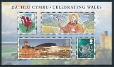 2009 GB CELEBRATING WALES MINI SHEET FINE MINT MNH SG MSW147