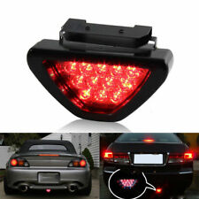 Car Rear Tail Brake Stop Light Taillight Red Strobe Fog DRL Flash 12 LED Lamp