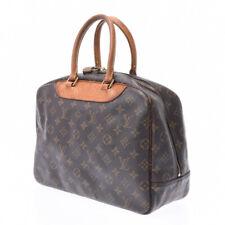 LOUIS VUITTON Monogram Deauville Brown M47270 Hand Bag 805000933049000