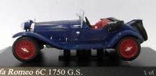 Artículos de automodelismo y aeromodelismo Alfa Romeo MINICHAMPS color principal azul