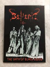 BEHERIT-THE OATH OF BLACK BLOOD-PRINTED ENAMEL METAL PIN BADGE