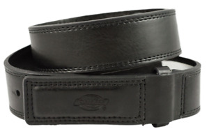 DICKIES MENS MECHANIC WORK BELT LEATHER COVERED BUCKLE INDUSTRIAL STRENGTH BELT