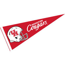 "UH Cougars 12"" X 30"" Football Helmet Pennant"