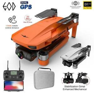8K KF102 Ultra HD 1200M New 5G GPS FPV Wi-Fi Professional Quadcopter 25MIN Drone