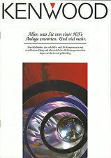 Kenwood Katalog Prospekt KA-7050R KA-V8500 KX-9050S KT-6050 DP-5050TG KD-8030