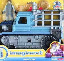 NIB Fisher-Price Imaginext Snow Tank Toy Figure Set
