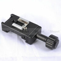 Clamp Shoe Mount Speedlite Flash bracket for Camera L-shaped Quick Release Pate