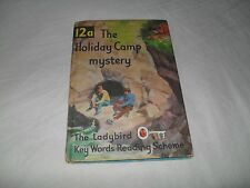 LADYBIRD - Key Words Reading Scheme 12A The Holiday Camp Mystery matt 2/6
