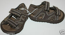 Koala Baby Boys Cute Brown Infant Sandals Shoes Size 1 NWT