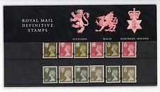 GB 1993 Three Regions Definitive Presentation Pack No 31 VGC stamps