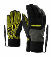 Ziener Herren Alpine-Skihandschuhe GARIM AS® glove ski schwarz grau