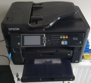 Epson Workforce WF-7620 with cartridges