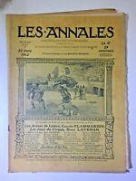 Les Annales N°1513 - 23 juin 1912 - avec Partition musique