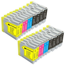 20 NON-OEM INK CARTRIDGE BROTHER LC-51 MFC-665CW MFC-5860CN MFC-3360C MFC-845CW