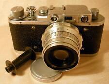 FED-1 camera with Industar-61L/D 50mm F2.8 lens USSR Leica-IId Tessar copy